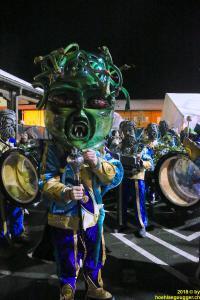 Tambourmajor der Höhläguugger